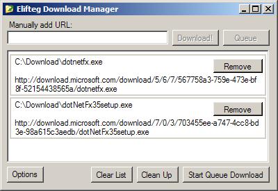 Elifteg Download Manager