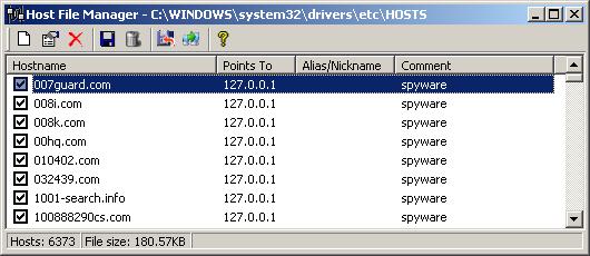 host file editor windows